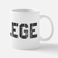 Vintage College Mug