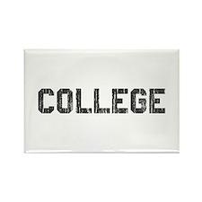 Vintage College Rectangle Magnet
