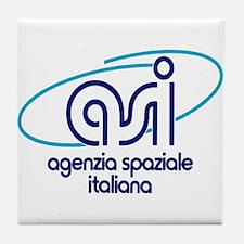 ASI - Italian Space Agency Tile Coaster