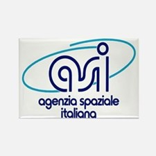 ASI - Italian Space Agency Rectangle Magnet