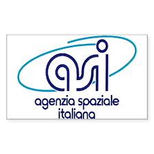ASI - Italian Space Agency Decal