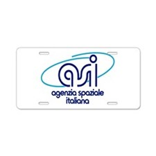 ASI - Italian Space Agency Aluminum License Plate
