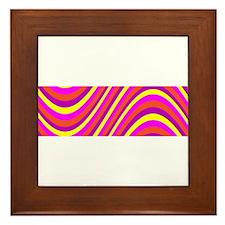 Funkadelic Pink Wild 23 Splendor Framed Tile