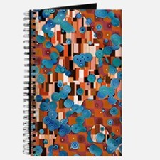 Klimtified! - Rust/Turquoise Journal