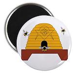 Masonic Bee Hive 2.25
