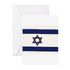 Israeli Flag Chanukah Cards (Pk of 10)