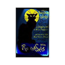 Cabaret du Chat Noir Rectangle Magnet