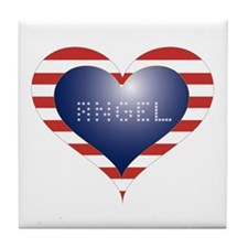 ANGEL HEART Tile Coaster