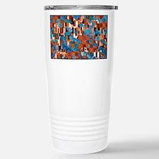 Klimtified! - Rust/Turquoise Travel Mug