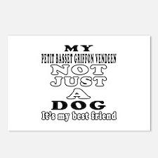 Petit Basset Griffon Vendeen not just a dog Postca