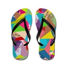 Flip Flops Colorful Thoughts