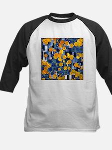 Klimtified! - Gold/Blue Kids Baseball Jersey