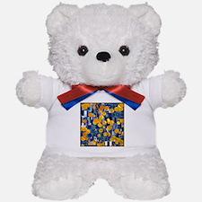 Klimtified! - Gold/Blue Teddy Bear