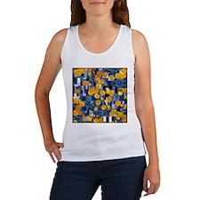 Klimtified! - Gold/Blue Women's Tank Top