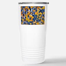 Klimtified! - Gold/Blue Travel Mug