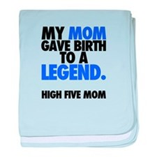 Baby Legend - Blue baby blanket