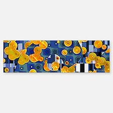 Klimtified! - Gold/Blue Bumper Bumper Sticker