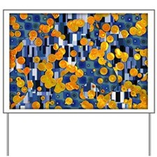 Klimtified! - Gold/Blue Yard Sign