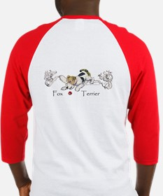 Wire Fox Terrier Graphic Baseball Jersey