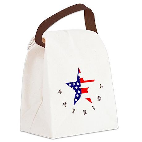 American Patriot Canvas Lunch Bag