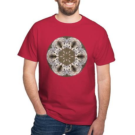Opossum Mandala Dark T-Shirt