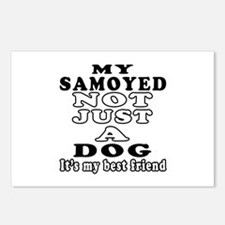 Samoyed not just a dog Postcards (Package of 8)