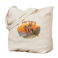 Vintage Cigar Label Art; Red Cloud Indian Horse To