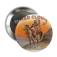 Vintage Cigar Label Art; Red Cloud Indian Horse 2.