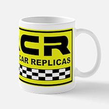 Race Car Replicas Color Logo Mug