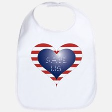 SAVE US HEART Bib