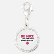 Be nice, I could be your nurse someday Silver Roun