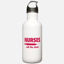 Nurses call the shots Water Bottle