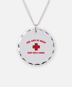 Feel safe at night - Sleep with a nurse Necklace C
