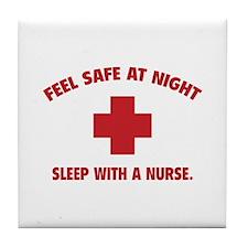 Feel safe at night - Sleep with a nurse Tile Coast