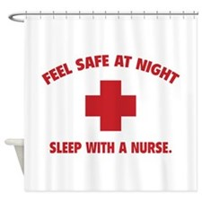 Feel safe at night - Sleep with a nurse Shower Cur