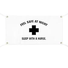 Feel safe at night - Sleep with a nurse Banner