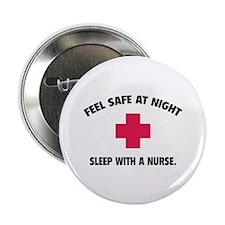"""Feel safe at night - Sleep with a nurse 2.25"""" Butt"""