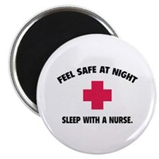 Feel safe at night - Sleep with a nurse Magnet