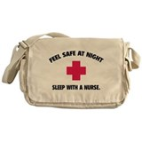 Funny nurse Messenger Bags & Laptop Bags