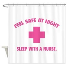 Feel safe at night - Sleep with a nurse Shower Cur