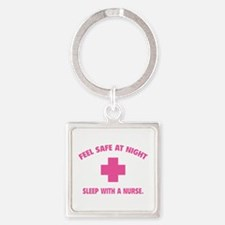 Feel safe at night - Sleep with a nurse Square Key