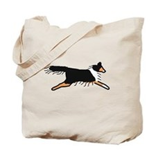 Tri-Color Sheltie Tote Bag