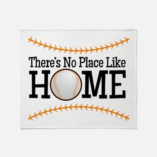 No Place Like Home BG Throw Blanket