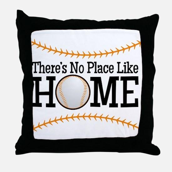 No Place Like Home BG Throw Pillow