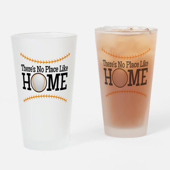 No Place Like Home BG Drinking Glass