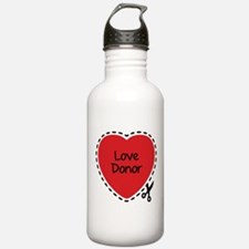 Love donor Water Bottle