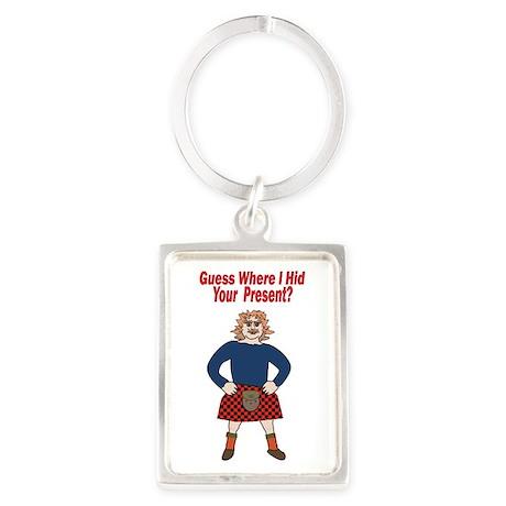 Sexy Scotsman Keychains