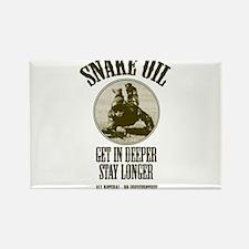 Snake Oil Rectangle Magnet