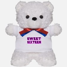 SWEEN SIXTEEN Teddy Bear