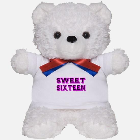 SWEEN SIXTEEN Teddy Bear